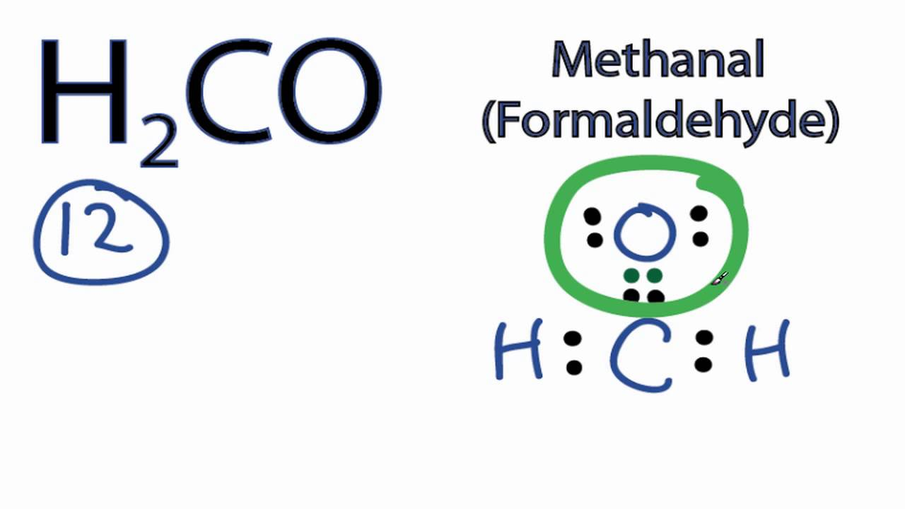 medium resolution of h2co lewis structure how to draw the electron dot structure for h2codot diagram co 11