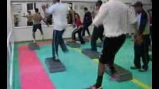 Choreography aerobic step Body combat Fitness