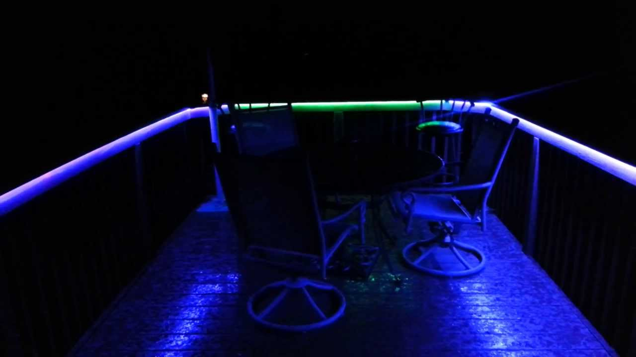 Led Strip Light on Deck 5050 Custom Installation with Music Sound  Controller - Colorado Hula Hoops