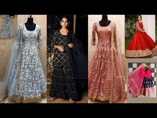 Designer Banarasi Lehenga Choli / Salwar Kameez / Gowns Collections l Online Shopping review #ethnic