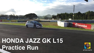 My 2015 Honda Jazz GK L15 on a practice run (Drag)