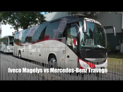 Iveco Magelys 2015 vs Mercedes-Benz Travego 2015