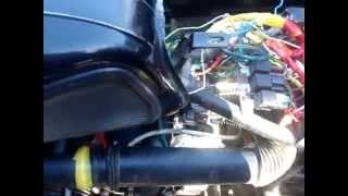 видео Инжекторный впрыск на мотоцикл Урал