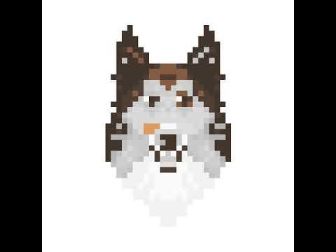 Comment Faire Une Tête De Chien En Pixel Art