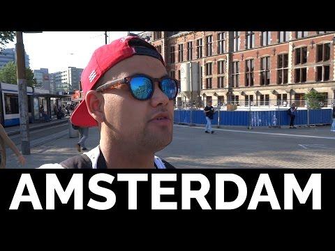 MIJN LEVEN IN AMSTERDAM! - Vlog #1