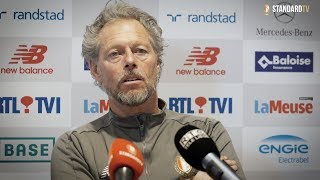 🎙 Point-presse de Preud'homme avant Standard - Courtrai