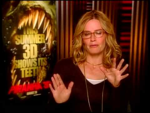 "Elisabeth Shue ""Piranha 3D"" Interview"