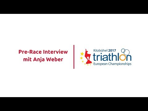 Triathlon EM Kitzbühel 2017 - Juniors Pre-Race Interview mit Anja Weber