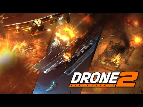 DRONE 2 AIR ASSAULT OP:RED WOLF CAMPAGAIN Gameplay Android / iOS