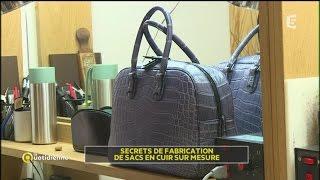 Secrets de fabrication de sacs en cuir sur mesure
