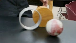 Rolling Objects  Investigation /// Homemade Science with Bruce Yeany