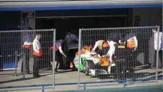F1 pre season testing Jerez Catalunya 2013, Red Bull, Ferrari, Lewis Hamilton, Mercedes, ( uWoT )