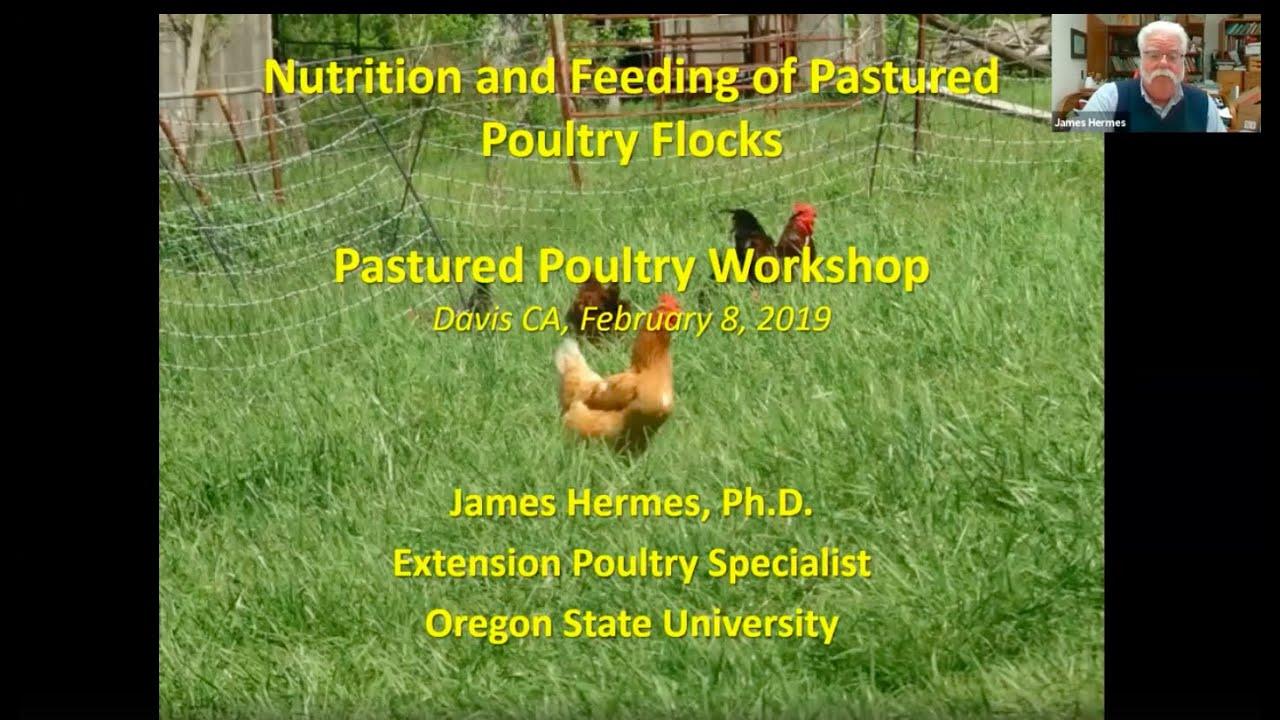 2019 BFRDP Workshop Recordings - Poultry