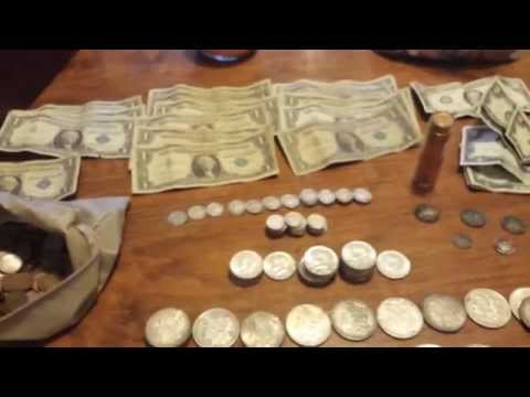 Amazing Garage Sale Haul! SILVER COINS GALORE! #24 (Part 1)