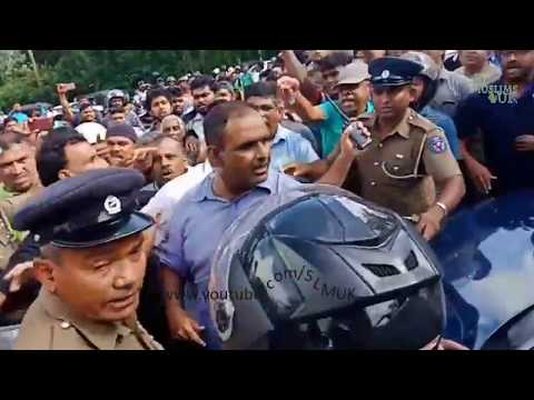 Kandy, Digana attack. SriLanka racist under covered work continues