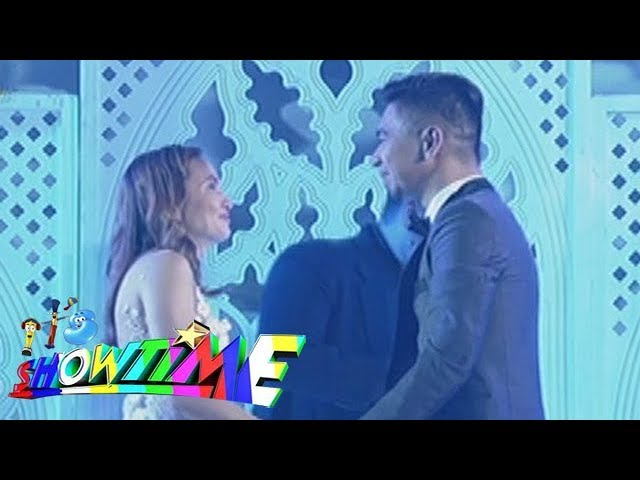 It's Showtime: The proposal & wedding of Teddy during Magpasikat performance