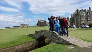 Golfen St.Andrews,  Vorspann