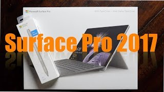 Microsoft Surface Pro 2017 Bundle [Unboxing & Hardware Overview]