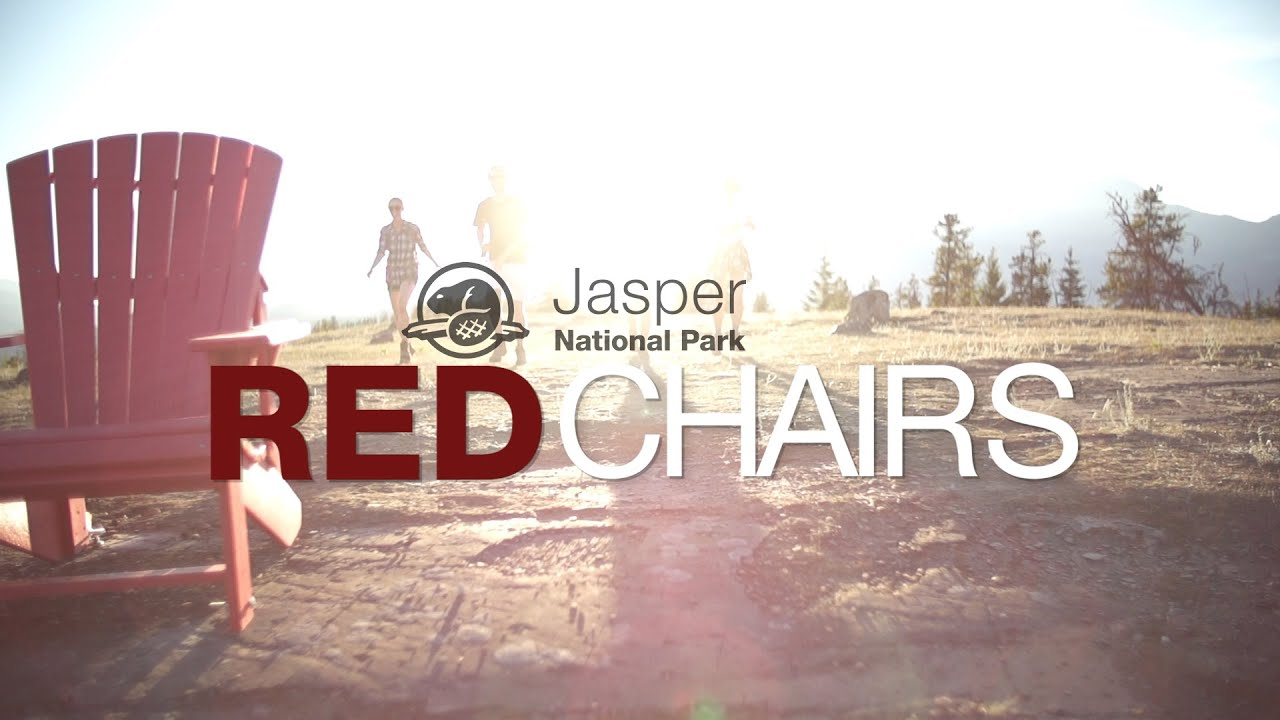 red chairs jasper national park youtube