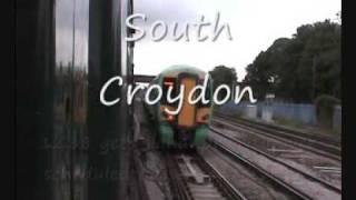 5 mile steam race. Oliver Cromwell 70013 & London/Brighton train. 13/8/09