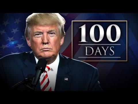 Trump's 100 Day Approval Rating Worst Since 1945