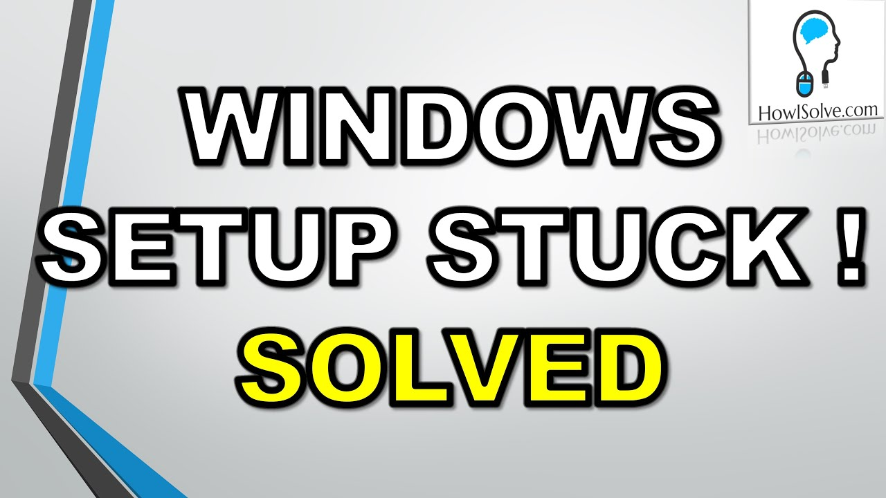 100% Solved:Windows could not complete the installation