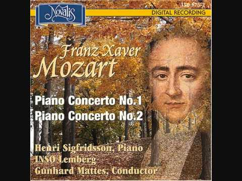 F. X. Mozart - Piano Concerto No. 1 In C Major, Op. 14 - (I) Allegro Maestoso