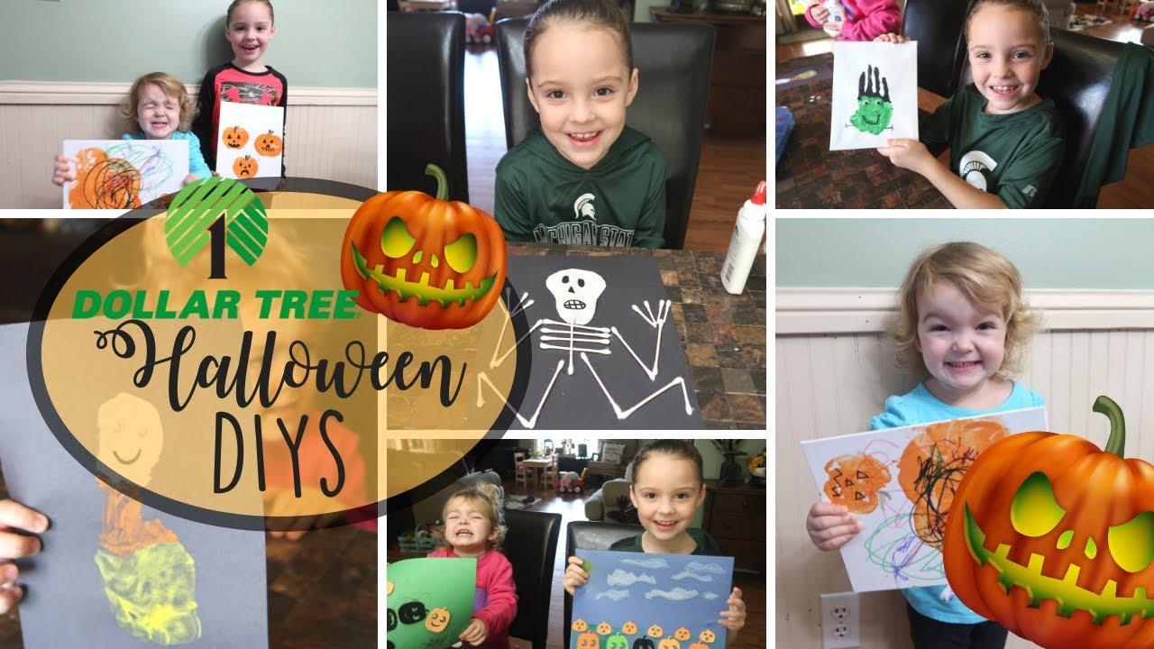 Dollar Tree Halloween Kids Diy Pinterest Inspired Diys Halloween