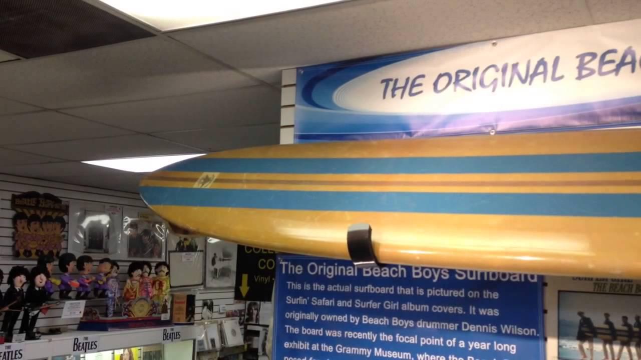 The Original Beach Boys Surfboard You