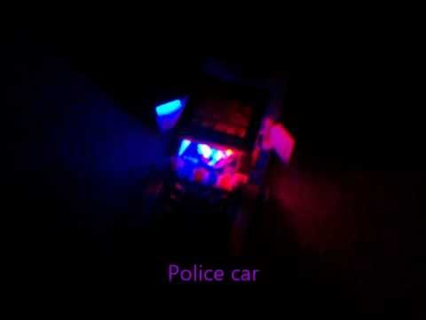 Lego Police Cars With Light And Sound - YouTube