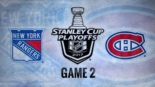 Radulov's OT goal lifts Habs past Rangers in Game 2