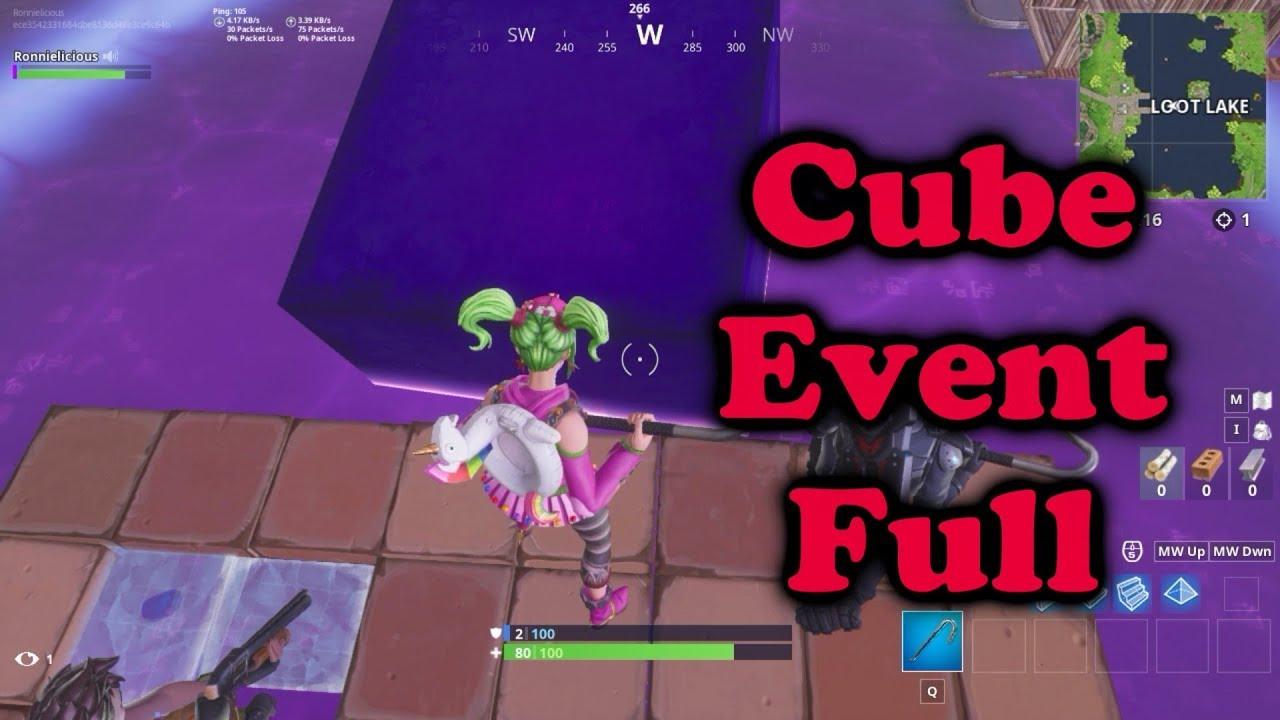 FORTNITE CUBE EVENT FULL
