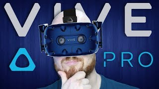 Hands On Impressions Of The HTC Vive Pro Virtual Reality Headset