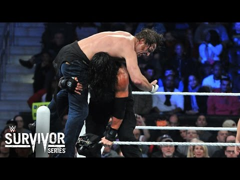 WWE Network: Ambrose Vs. Reigns: WWE World Heavyweight Title Final: Survivor Series 2015