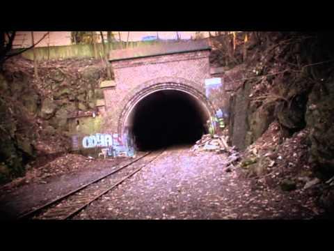 Unterwegs auf der Nordbahntrasse (Dezember 2007)