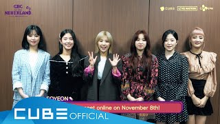 (G)I-DLE OFFICIAL FAN CLUB NEVERLAND 2ND ONLINE FAN MEETING [GBC in the NEVERLAND] - ID (ENG)