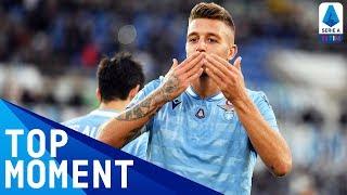 Milinkovic-Savic Doubles Lazio's Lead | Lazio 4-2 Lecce | Top Moment | Serie A