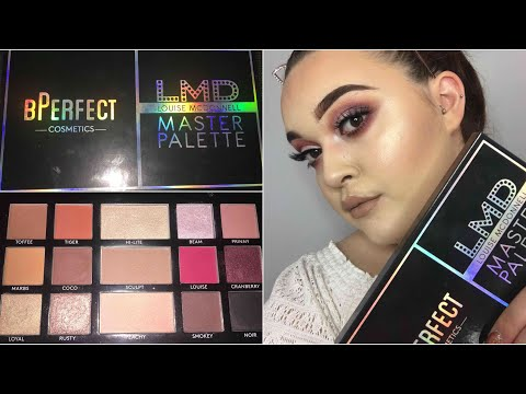 BPERFECT X LMD MASTER PALETTE REVIEW! // HANNAH GILES MAKEUP