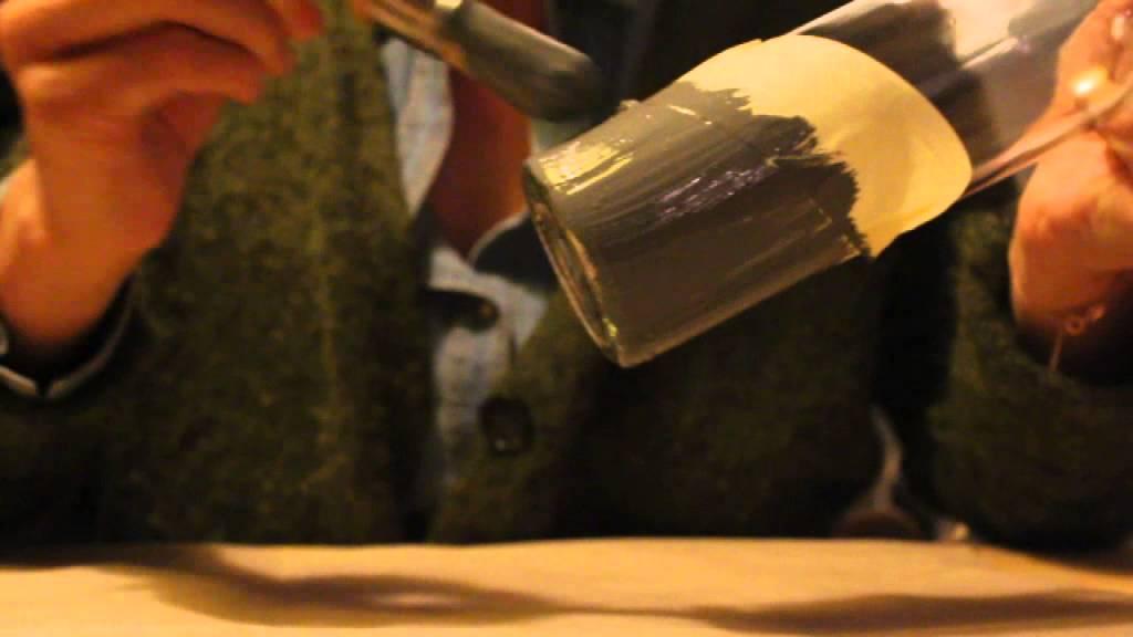 tuto pour se fabriquer des vases et photophores en verre youtube. Black Bedroom Furniture Sets. Home Design Ideas