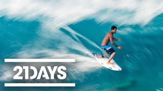 Preparing to Surf Pipeline - 21Days: Volcom Pipe Pro - Ep 1