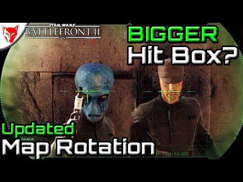 Bigger Hit Boxes? New Map Rotations! - Star Wars Battlefront 2