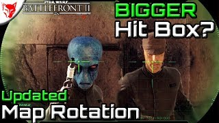 Bigger Hit Boxes? New Map Rotations! - Star Wars Battlefront 2