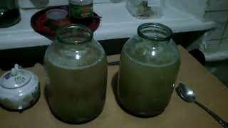 Шампансткое из сливового  варенья(желтая слива)