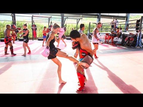 Afternoon Muay Thai Training at AKA Thailand – Phuket – Thailand