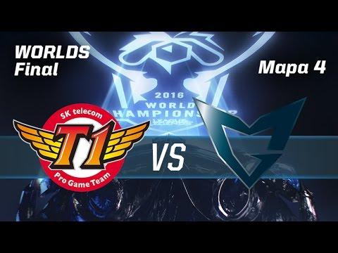 SKT TELECOM T1 VS SAMSUNG GALAXY - #FinalWorldsLVP - World Championship 2016 - Mapa 4 - GRAN FINAL