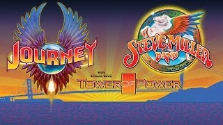 First Date: Journey & Steve Miller Band 2014 Tour Kickoff