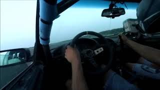 BMW E36 obrót/spin 200km/h- 210km/h-Jazda z Dokurviatorem