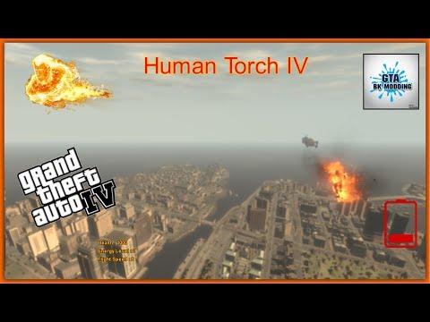 Human Torch IV Script - GTA IV