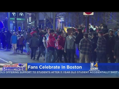 Boston Fans React To A Patriots Super Bowl Win For The History Books