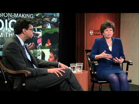 Leadership in Risk Taking | Valerie Jarrett | Voices from the Field at HSPH
